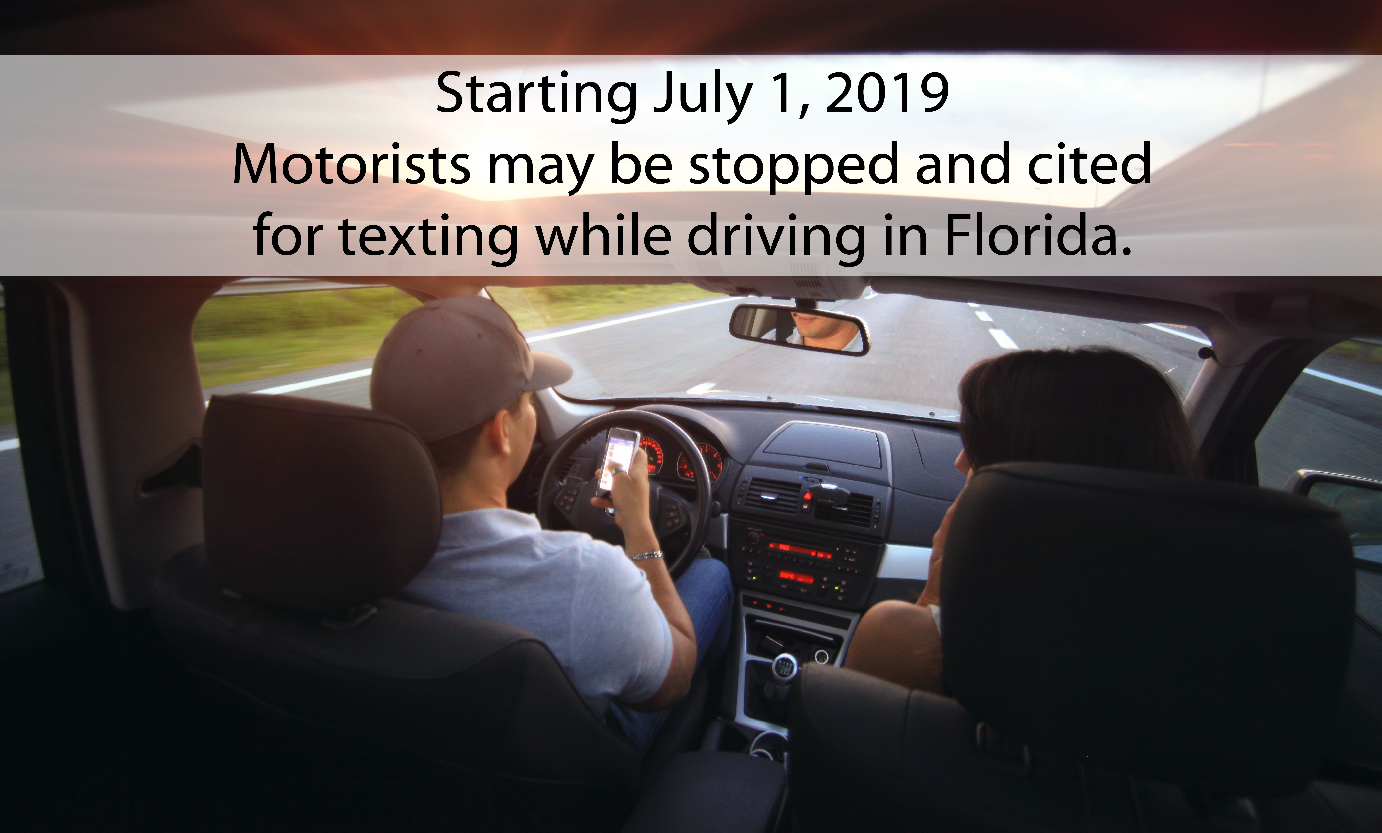 texting and driving, citrus gazette, texting