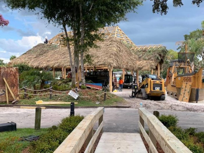 Crumps Landing rebuild is moving along, car wash fundraiser this weekend