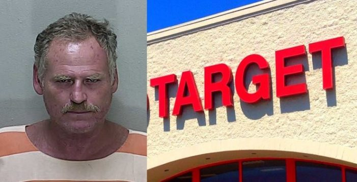 Target masturbator said he was only adjusting himself