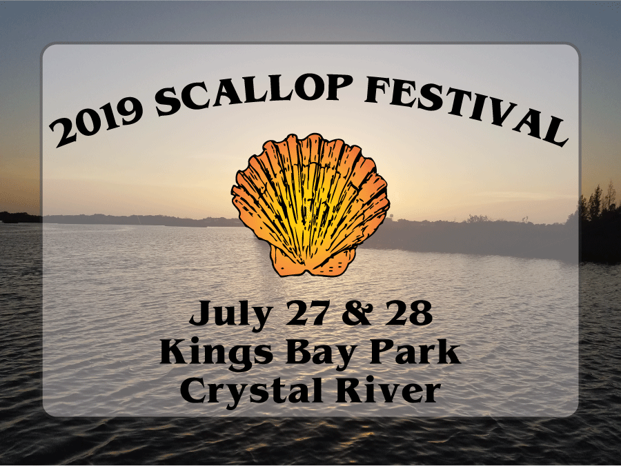 crystal river scallop festival, citrus gazette, scallop festival, crystal river news, events