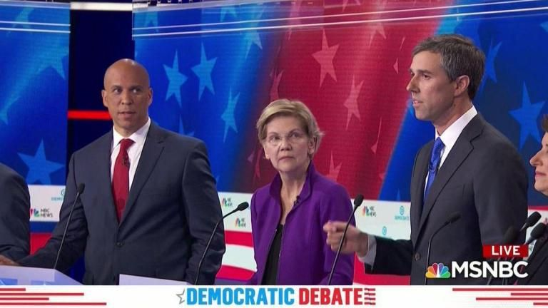 Beto O'Rourke, democratic debate, daily lash,