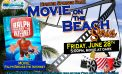 Movie on the beach