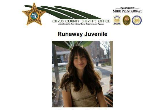 missing, Olivia Dalene Caulder, citrus gazette, citrus county news, inverness