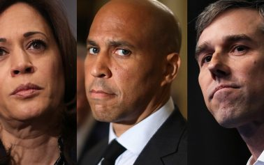 Democratic presidential candidates say El Paso shooting was Trump's fault, attack gun rights, leave out actual facts