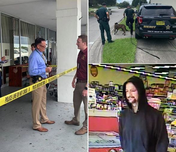 Family Dollar robbery suspect being questioned