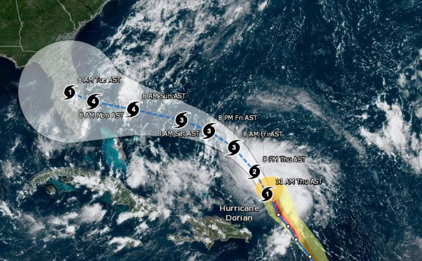 hurricane dorian, citrus county news, citrus gazette
