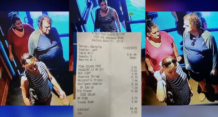 Three suspects wanted after scamming restaurants out of a night's dinner
