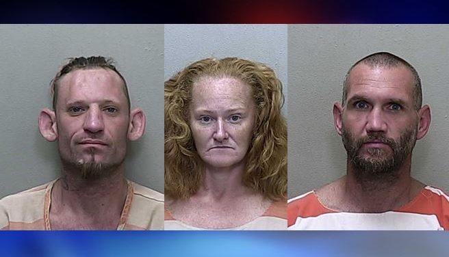 Home invasion yields three arrests