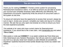 unemployment, citrus gazette, you are now in line