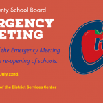Citrus County School Board to hold emergency meeting about schools opening