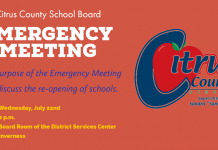 citrus county school board, citrus gazette