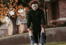 michael myers engagement, texas, citrus gazette, halloween 2020