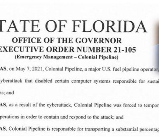 executive order, gas pipeline, citrus gazette