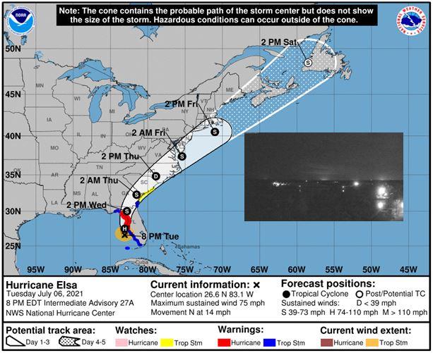 hurricane elsa citrus county, streaming live, citrus gazette